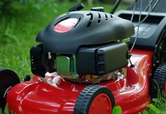 Forskel fra almindelig græsslåmaskine