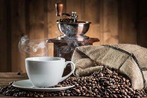 Rengøring af kaffekvaern