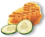 agurk-honning-ansigtsmaske