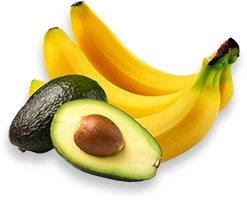 avocado-banan-ansigtsmaske