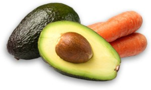avocado-gulerod-ansigtsmaske