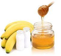 banan-honning-ansigtsmaske