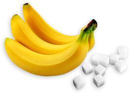banan-sukker-ansigtsmaske